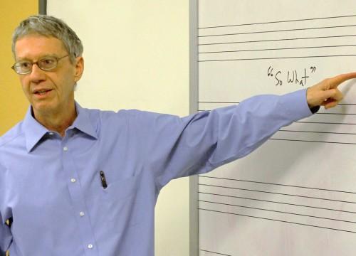 Faculty member, Henry Martin