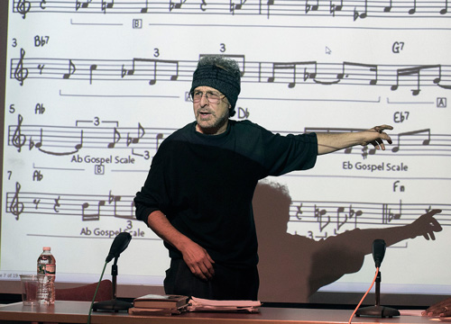 Faculty member, Radam Schwartz