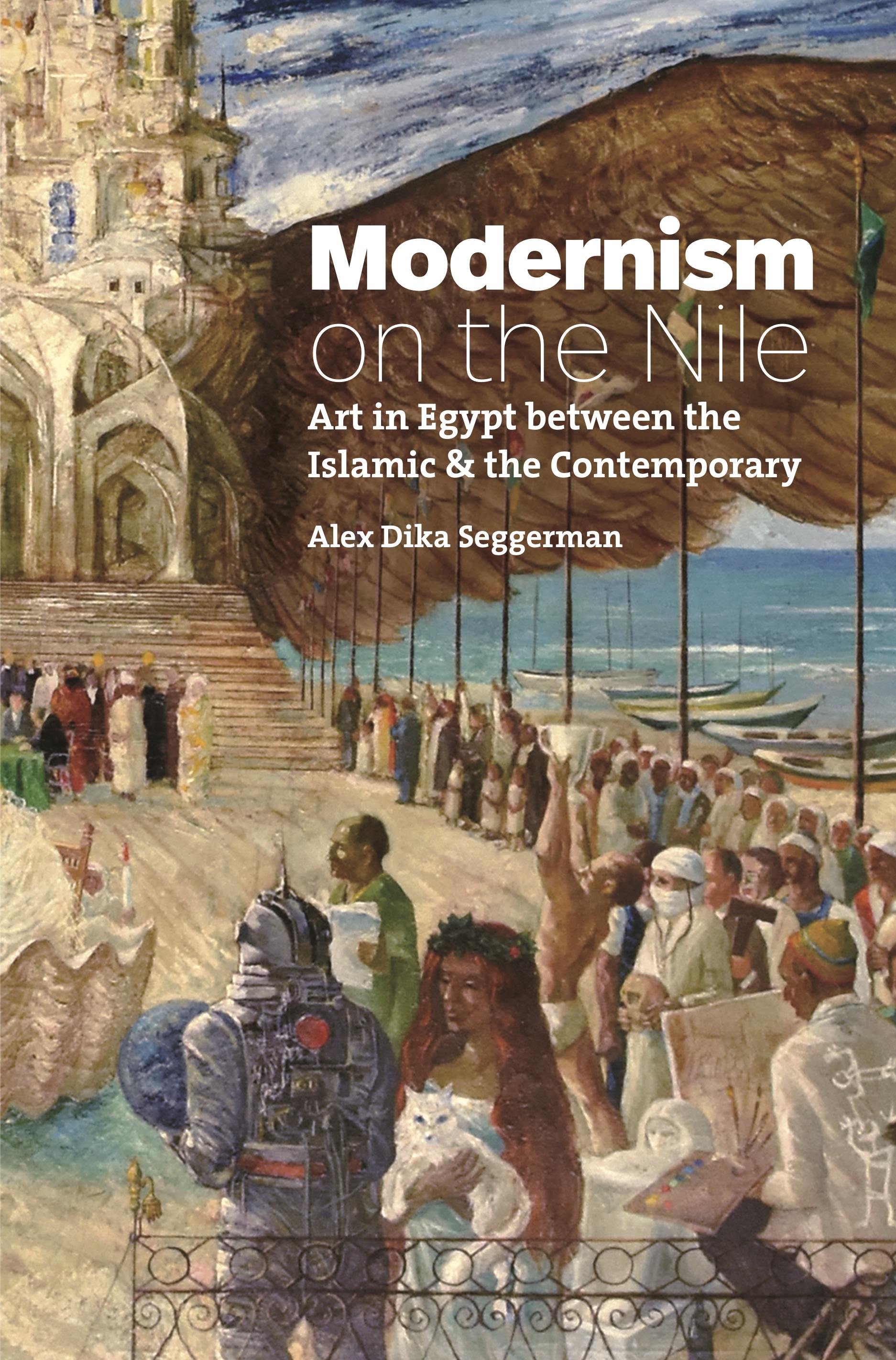 Pictured: book cover of Modernism on the Nile