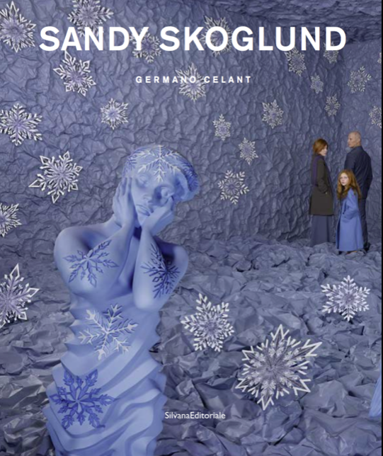 Pictured: the cover of the new monograph on Sandra Skoglund