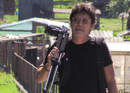 Pictured: Videographer and Professor, Edin Velez.